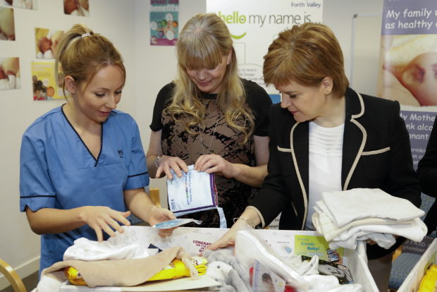 Baby Box Begin (Nicola Sturgeon) - Scottish Government website