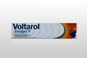 "The 180g Voltarol Emulgel pack is enough for a ""two-week flare-up"""