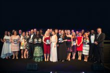 Last year's winners during the C+D Awards ceremony at Celtic Manor in Wales