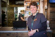 "Alison Sparkes' pharmacy: ""It's like an old-fashioned dispensary, but a bit funkier."""