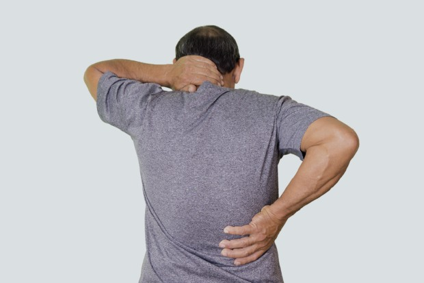 Back pain and sleep loss case study