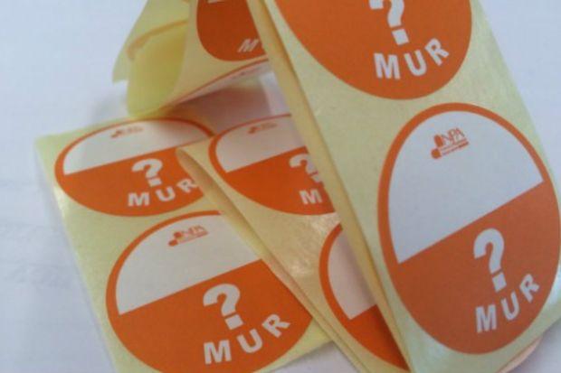 MUR stickers