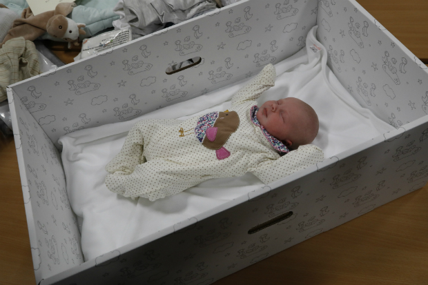 Baby Boxes Begin - Scottish Government website