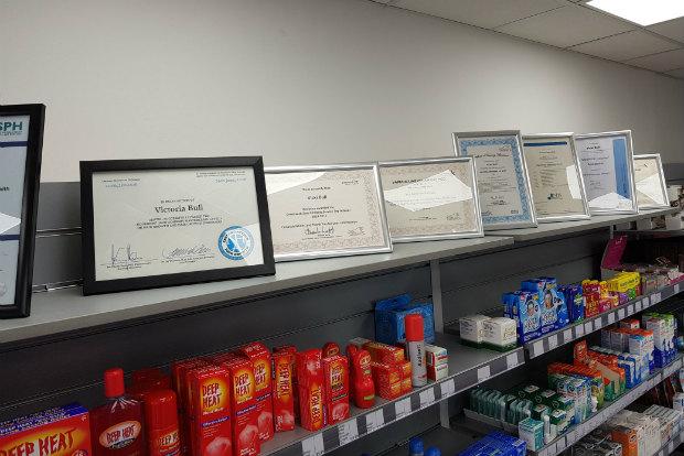 Victoria Bull certificates