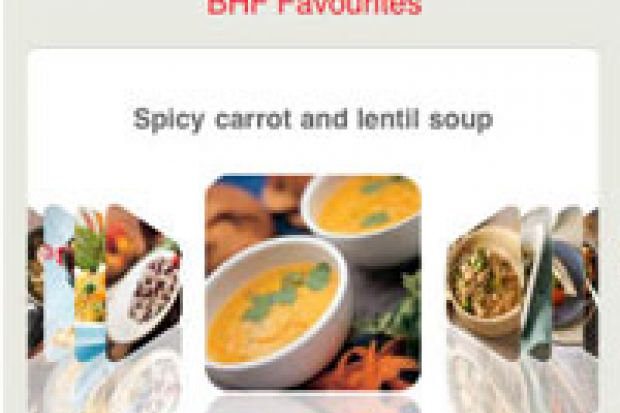 British heart foundation recipe finder chemistdruggist app of the week this british heart foundation app offers a growing selection of heart healthy recipes checked by bhf dieticians forumfinder Choice Image