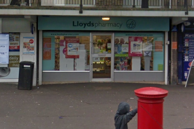 former Lloydspharmacy branch in Blackbird Leys, Oxford