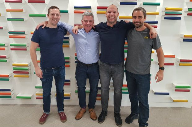 Left to right: C+D's James Waldron, Nigel Vincent, Adam Smith and Kristien Hinde
