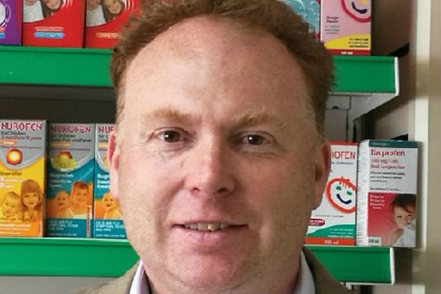 Gary Jones estimates the app has saved his pharmacy up to £3,000 a year