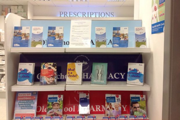 Old School Pharmacy has since been commissioned to provide NHS health checks
