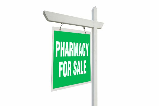 A broker firm says the average pharmacy now sells for £933,000