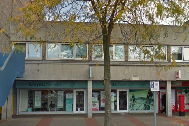 Lloydsphamacy on Malabar Road, Leicester. Credit: © 2017 Google, image capture: October 2016