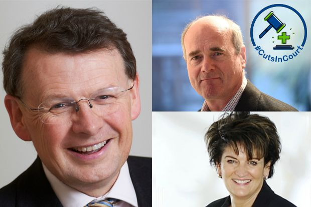 Clockwise from left: David Lock QC, James Eadie QC, Alison Foster QC
