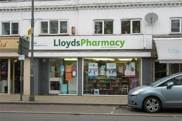 Lloydspharmacy at 41 High Street, Biggleswade, closed in January (Credit: The Local Data Company)