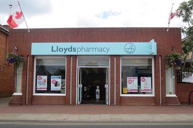Lloydspharmacy at 62 High Street, Leiston, closed on January 31. Credit: The Local Data Company