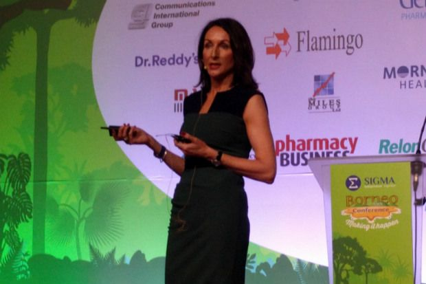 "Carole Alexandre: Market share of ""managed pharmacy chains"" decreased over same period"