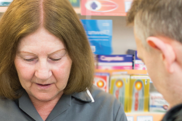 Eighty-seven per cent of people believe local pharmacies are the best place for health advice