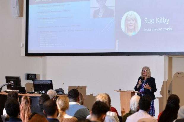 """Industrial pharmacist Sue Kilby: """"University is not the end of your learning"""""""