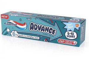 Aquafresh Advance kids toothbrush toothpaste GSK