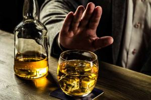 Turning down alcohol because of misuse
