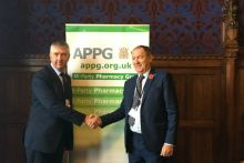 """CPNI's Gerard Greene (left) called on the APPG to """"intervene on our behalf"""""""