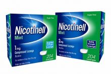 nicotinell 204 lozenge stop smoking cessation