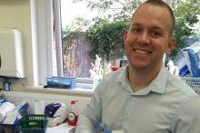 Mr Monachello says spreading the workload has helped his team focus on medicines optimisation