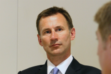 Mr Hunt: I know some staff haven't found me the easiest health secretary