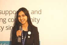 Luvjit Kandula sees her role as an opportunity to develop a peer support network