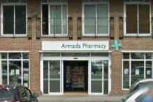 Armada Pharmacy in Essex is one of the two sites bought by Pharmadose. Credit: © 2017 Google, image capture: July 2016