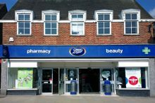 A Boots pharmacy