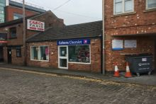 The former Lloydspharmacy on Charlotte Street, Macclesfield, is now trading as a Cohens