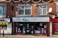 Anup, Rahul and Jatin Patel bought the pharmacy in Belgrave Road, Leicester last month
