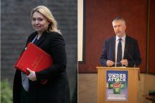 Secretary of state for Northern Ireland Karen Bradley will meet CPNI's Gerard Greene today