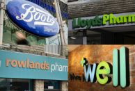 Boots, Lloydspharmacy, Well and Rowlands