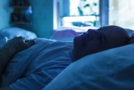 You should recommend that patients don't remain in bed if they can't sleep