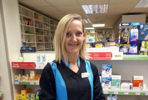 Ms Fairweather trained as a smoking cessation advisor – and trains colleagues to offer the service