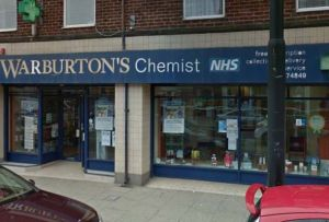 Warburton's, Fleetwood; one of O'Brien's six branches. Credit: © 2017 Google, image capture: July 2016